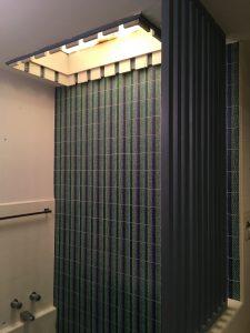 vollendorf house mwc master bathroom tile shower skylight