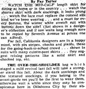 ft fashion advice 1964