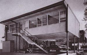 herold building parking 1953