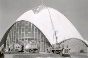 first christian church construction