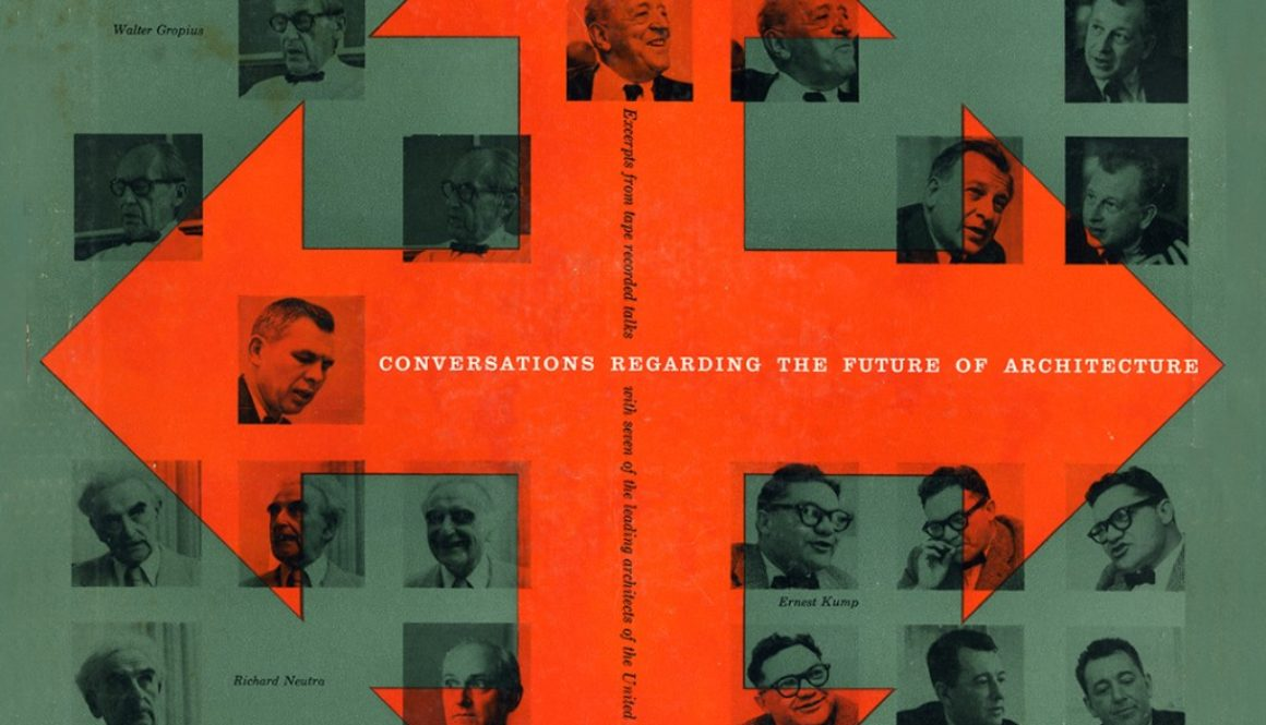 Conversations Regarding the Future of Architecture. 1956. Album Cover