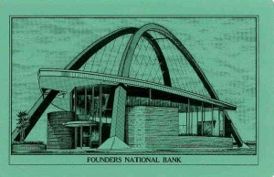 Founders Bank cards - green