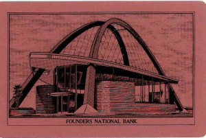 Founders Bank cards - pink