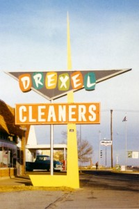 Mac's signs - drexel cleaners sign