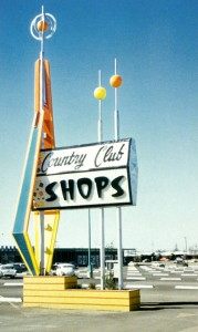 Mac's signs - country club shops sign