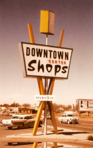 Mac's signs - downtown shops sign
