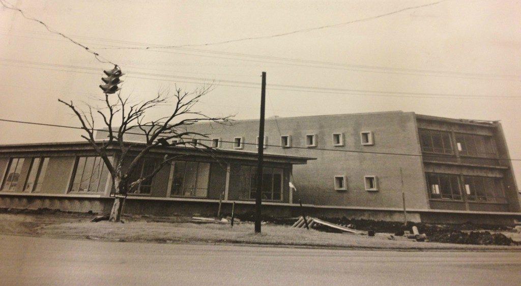 Allied Building - vintage shot construction opubco