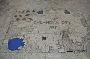 terrazzo mural oklahoma 1957