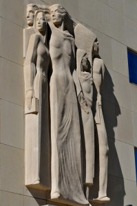 oklahoma county courthouse federal building art relief