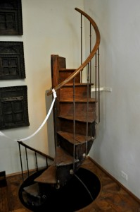 walters house staircase