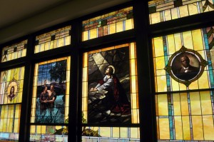 calvary baptist church - windows