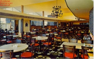 founders tower_queen ann cafeteria 60s