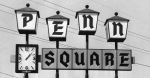 penn square sign
