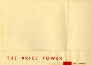 price tower book - dedication booklet - inside left cover