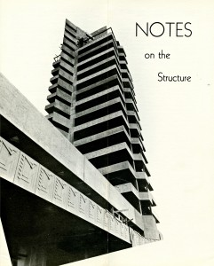 price tower book - dedication booklet - notes on the structure 1