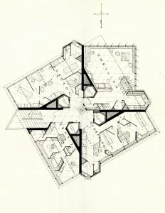 price tower book - dedication booklet - typical office floor 2 - floorplan