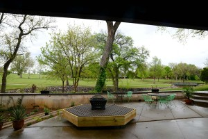 howard house backyard golf course