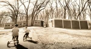 jones house tulsa shulman front kids tricycle