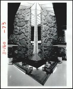 arrowhead lobby 1972