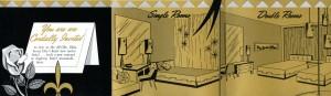 deville motel rooms brochure