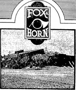 fox and horn ad 12 74