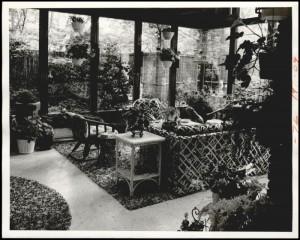 glenna living room 1974 terrazzo floors