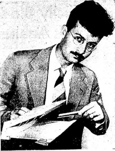 kamphoefner - band shell - OU - july 11 1943 - photo of him