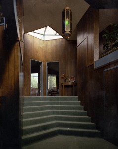 Gwin House Ada - designed by Ray James - photo by Bob Bowlby entry stairs