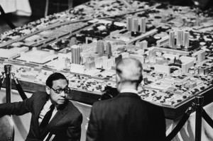 I. M. Pei plan model doug hoke oklahoman 1964
