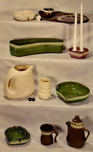 Vintage postcard of various Tamac pieces. (Mike Brown collection)