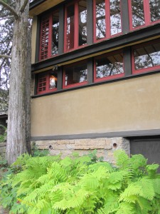 Taliesin outside office