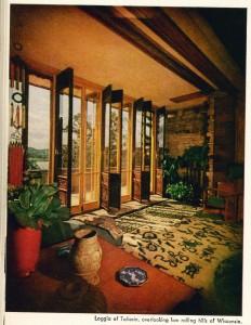 Vintage Taliesin Loggia