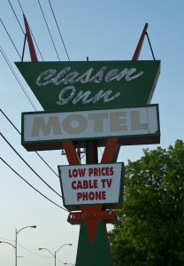 classen inn motel mac teague