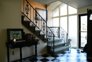 1 - gable house entry