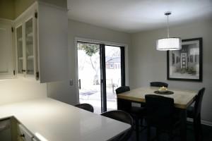 1 gable house kitchen breakfast room