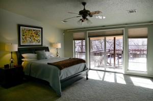 1 gable house master bedroom
