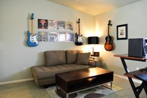 1 gable house master suite studio