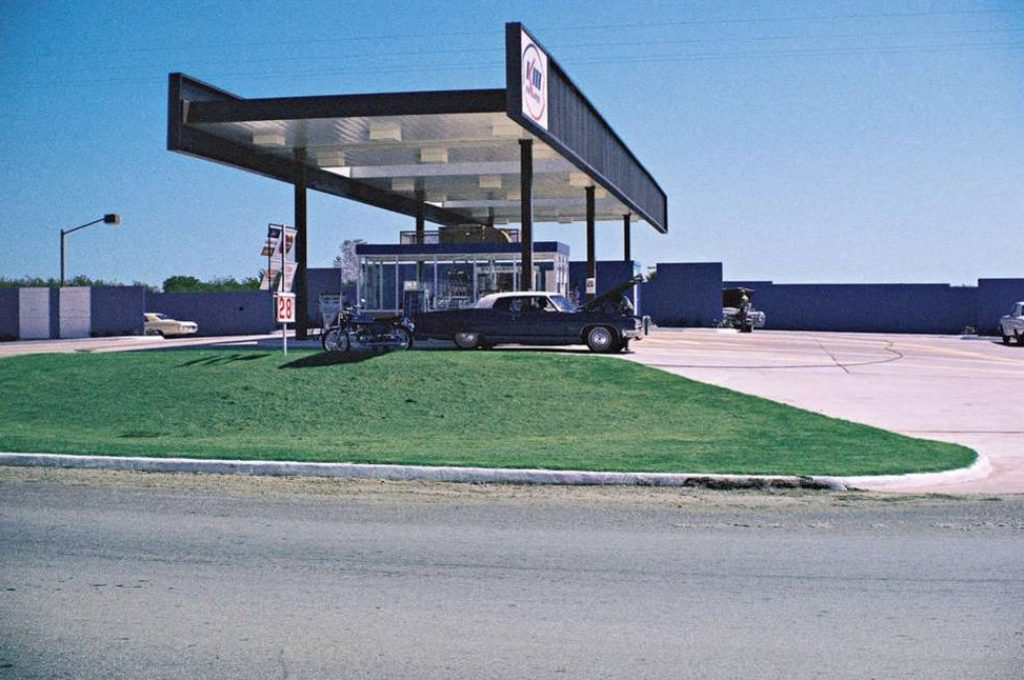 George Nelson Kerr McGee station 1969 okc