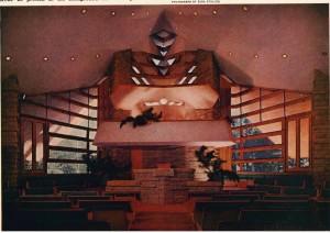 Vintage Unitarian Hall