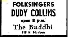 judy collins dudy ad buddhi