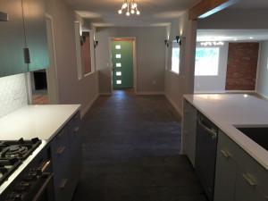 Jack Byrd House entry kitchen