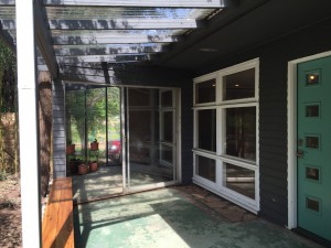 Jack Byrd House porch sunroom
