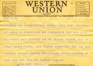 Bill Alexander - war correspondent - italy April 1945 - 3