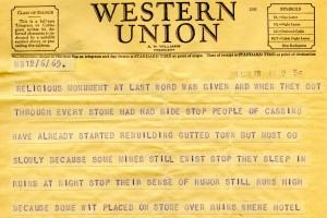 Bill Alexander - war correspondent - italy April 1945 - 6