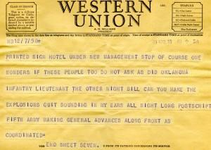 Bill Alexander - war correspondent - italy April 1945 - 7