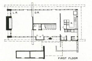 Sorey House - AR - 1968 floorplan 1st