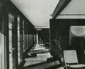 Sorey House - AR - 1968 living room