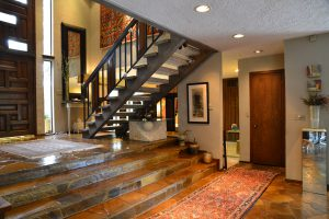 Debbie Ellis entry kitchen stairs