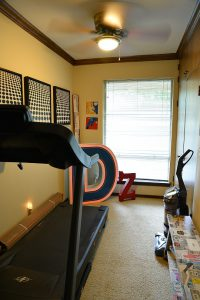 Debbie Ellis exercise room smaller