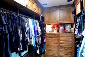 Debbie Ellis master closet hers